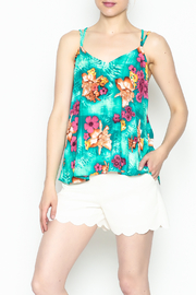 Buddy Love Tropical Kendall Top - Product Mini Image