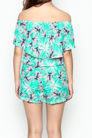 Buddy Love Tropical Mojito Romper - Back cropped