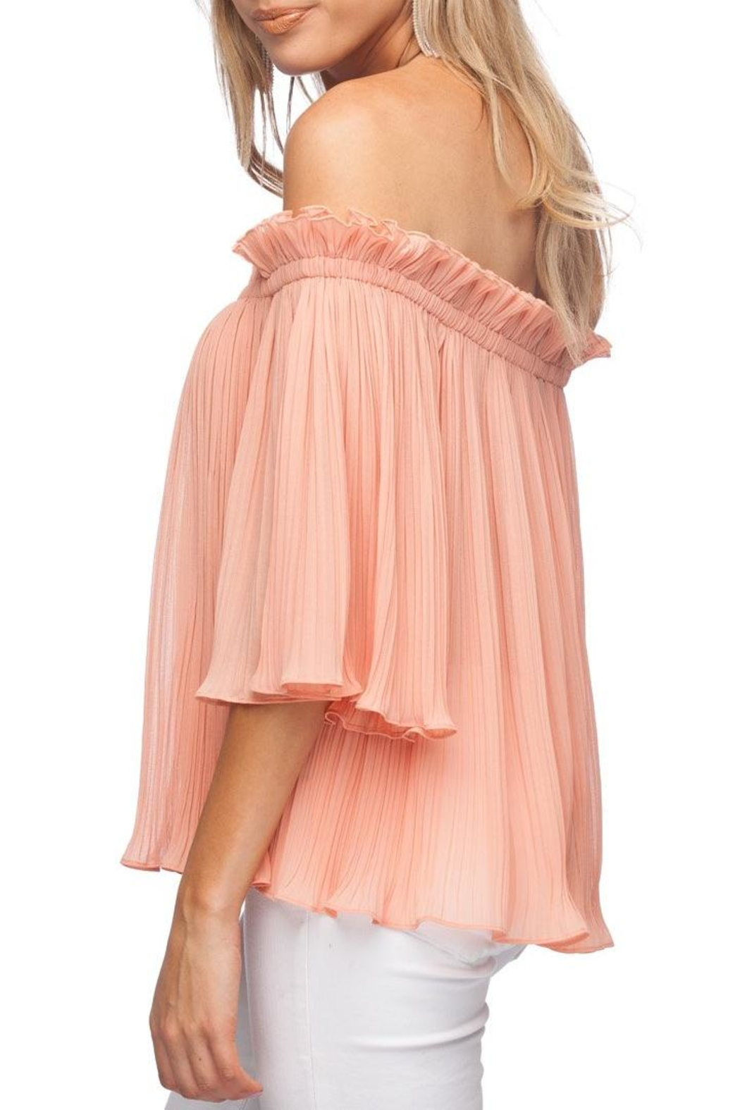 Buddy Love Annaberg Top Peach - Front Full Image