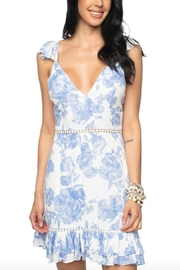 Buddy Love Cameron Flutter Dress - Front cropped