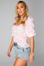 Buddy Love Demi Sweetheart Top - Front full body