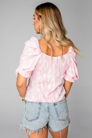 Buddy Love Demi Sweetheart Top - Side cropped