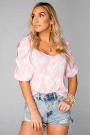 Buddy Love Demi Sweetheart Top - Front cropped