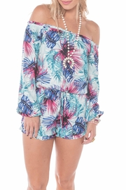 Buddy Love Flora Congo Romper - Front full body