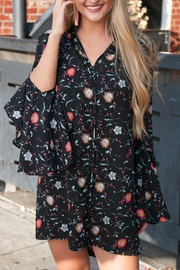 Buddy Love Floral Button-Front Dress - Product Mini Image