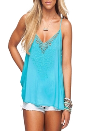 Buddy Love Harper Tank Aqua - Product Mini Image