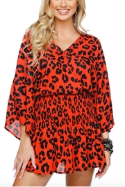 Buddy Love Lennox Leopard Dress - Product Mini Image