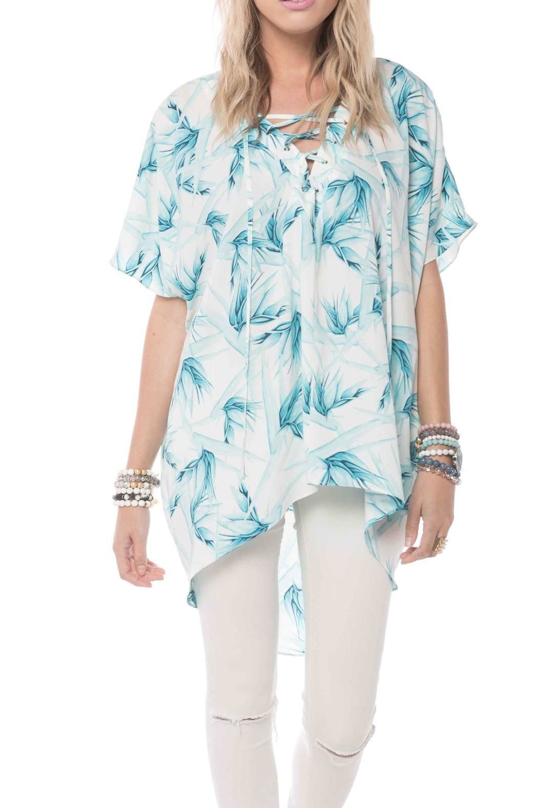 Buddy Love Lotus Tunic Top - Main Image