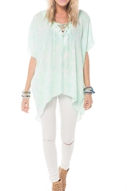 Buddy Love Mint Snake Tunic - Front cropped
