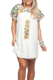 Buddy Love Multi-Colored Embroidered Dress - Product Mini Image