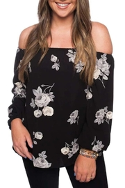 Buddy Love Off Shoulder Top - Product Mini Image