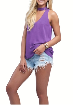 Shoptiques Product: Purple Date Tank