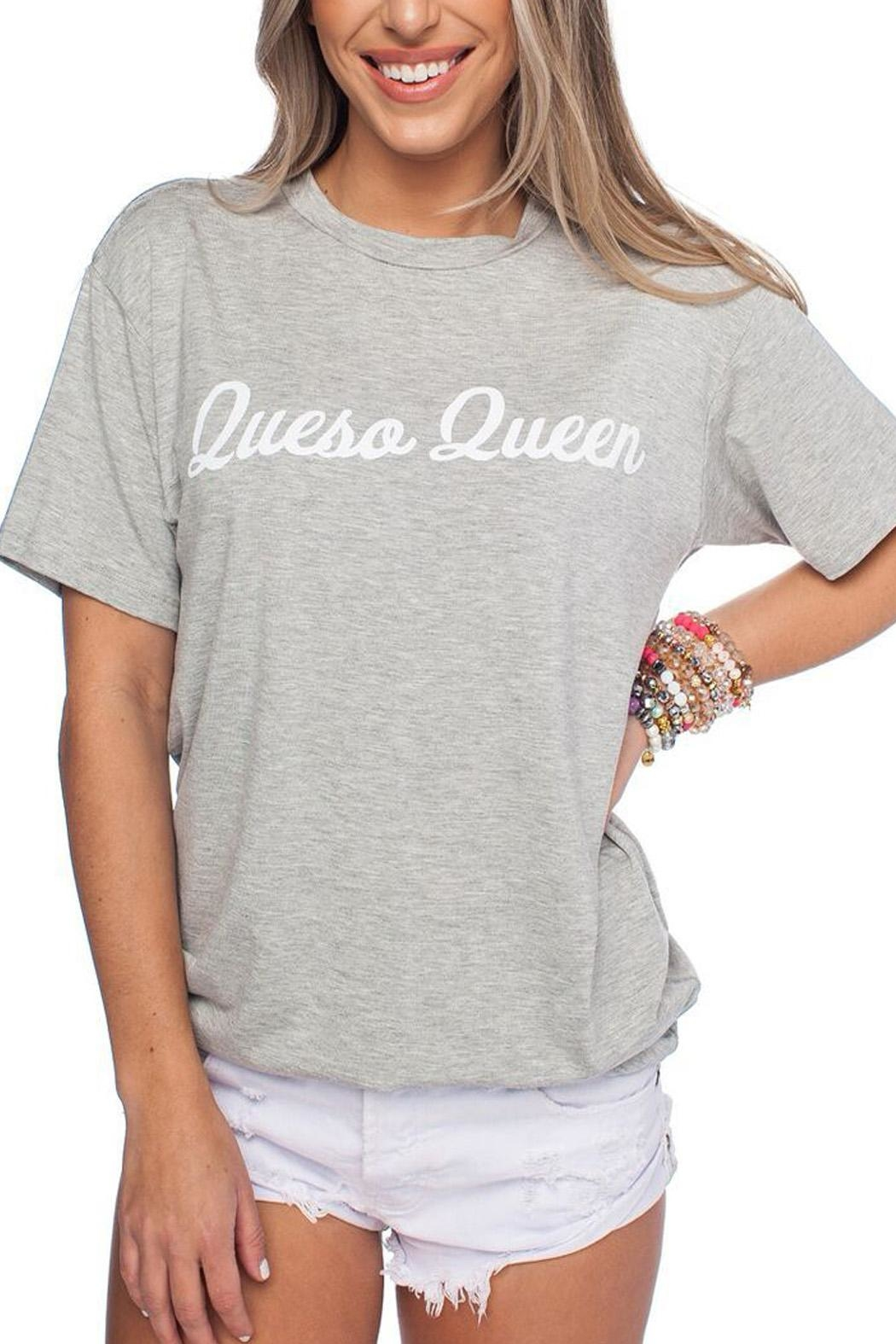 Buddy Love Queso Queen Tee - Main Image