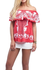 Buddy Love Red Spirit Top - Product Mini Image