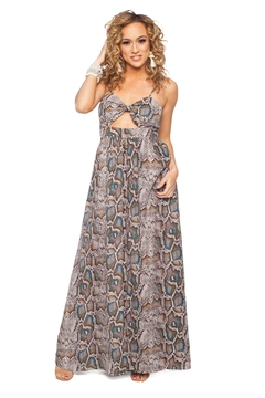 8baf3c829a6 ... Buddy Love Reptile Maxi Dress - Product List Image