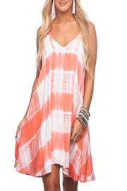 Buddy Love Sawyer Dress Peach - Product Mini Image