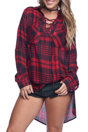 Buddy Love Soft Flannel Top - Product Mini Image