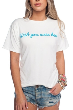 Shoptiques Product: White Beer Tee