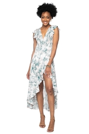Buddy Love Wrapped Maxi Dress - Front cropped