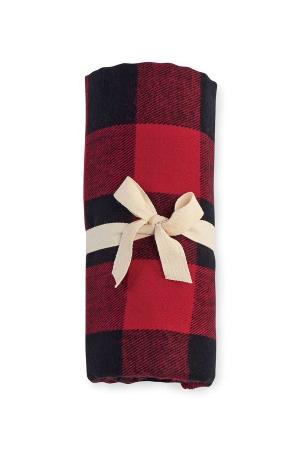 Mud Pie Buffalo Check Blanket - Front Full Image
