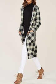 Wild Lilies Jewelry  Buffalo Check Cardigan - Product Mini Image