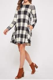 Bedazzled Buffalo Check Dress - Product Mini Image