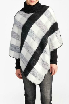 Coco + Carmen Buffalo Check Poncho - Alternate List Image