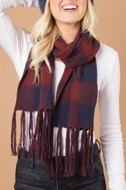 Simply Noelle Buffalo Check Scarf - Product Mini Image