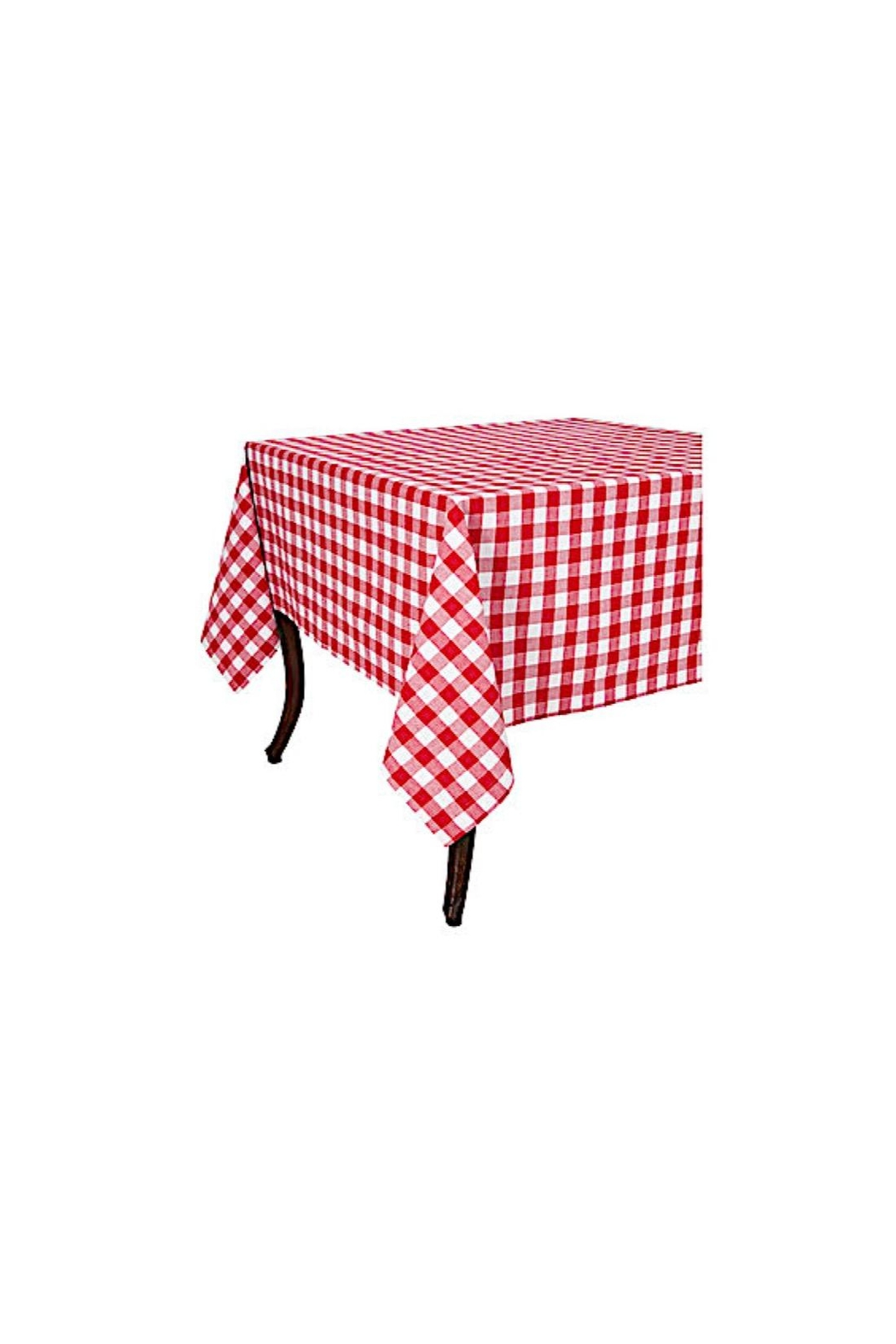 KAF Home Buffalo Check Tablecloth - Front Cropped Image