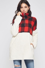Bellamie Buffalo Plaid Pullover - Product Mini Image