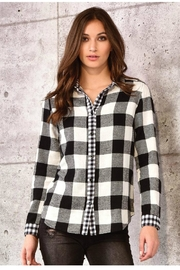 Charlie Paige Buffalo Plaid Shirt - Product Mini Image