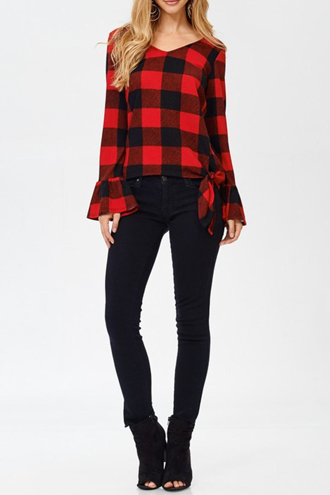 8d0539caa9 White Birch Buffalo Plaid Top from Texas by Pickles and Olive s ...
