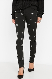 Buffalo David Bitton Faith Skinny Jeans Wtih Diamonds - Product Mini Image