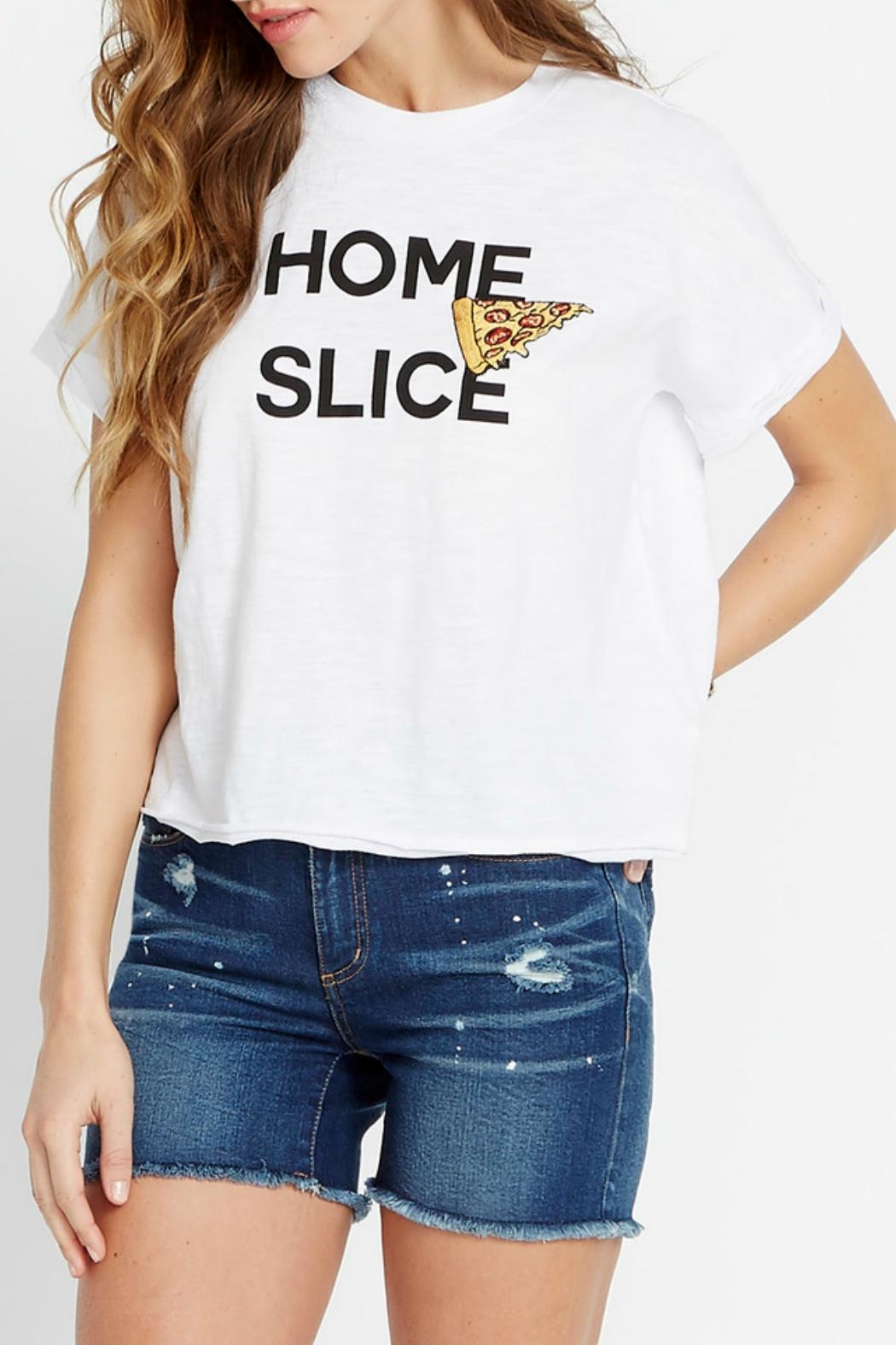 Buffalo David Bitton Home Slice Tee - Front Cropped Image