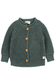 Buho Baby Robin Knit Boy Wool blend Cardigan Jacket | Winter Wear Sweater - Product Mini Image