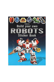 Usborne Build Your Own Robots Sticker Book - Product Mini Image