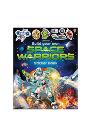 Usborne Build Your Own Space Warriors Sticker Book - Product Mini Image
