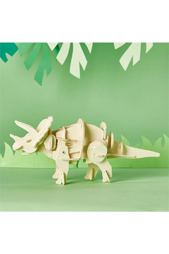 Cupcakes and Cartwheels Build Your Own Walking Triceratops 3D Dinosaur Puzzle - Alternate List Image