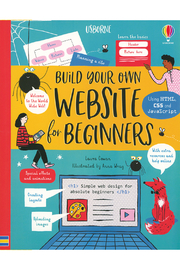 Usborne Build Your Own Website For Beginners - Product Mini Image