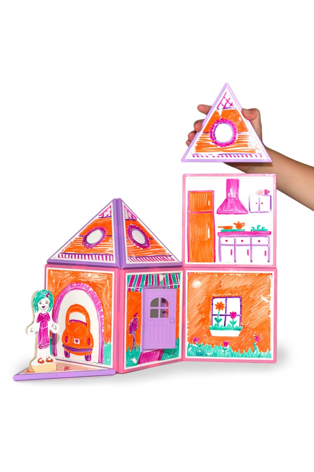 Build And Imagine Build Draw Dollhouse From Pennsylvania By Momo S