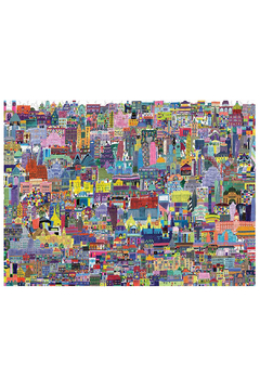 Crocodile Creek Buildings Of The World 1000 Piece Puzzle - Product List Image