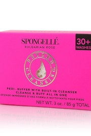 Spongelle Bulgarian Rose Pedi Buffer - Product Mini Image