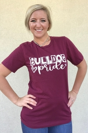 OCEAN & 7TH Bulldog Pride Gameday tee - Product Mini Image