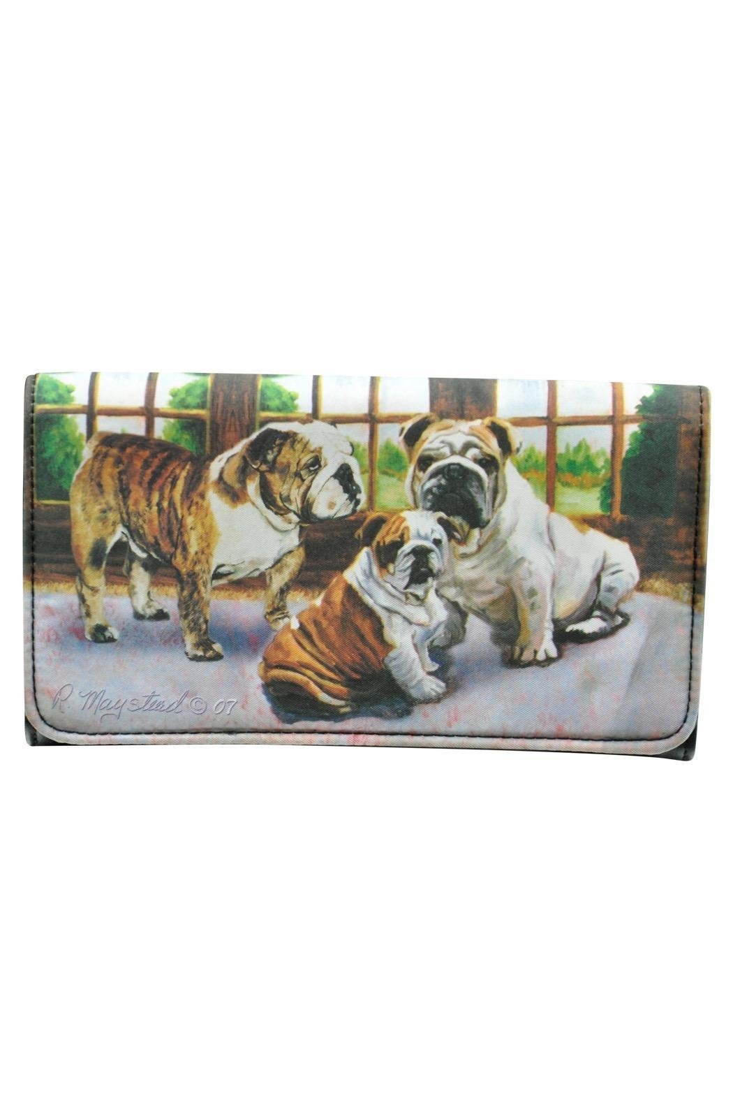 Bulldog Theme Wallet - Front Cropped Image