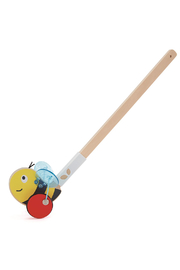 Hape  Bumblebee Push Toy - Front cropped
