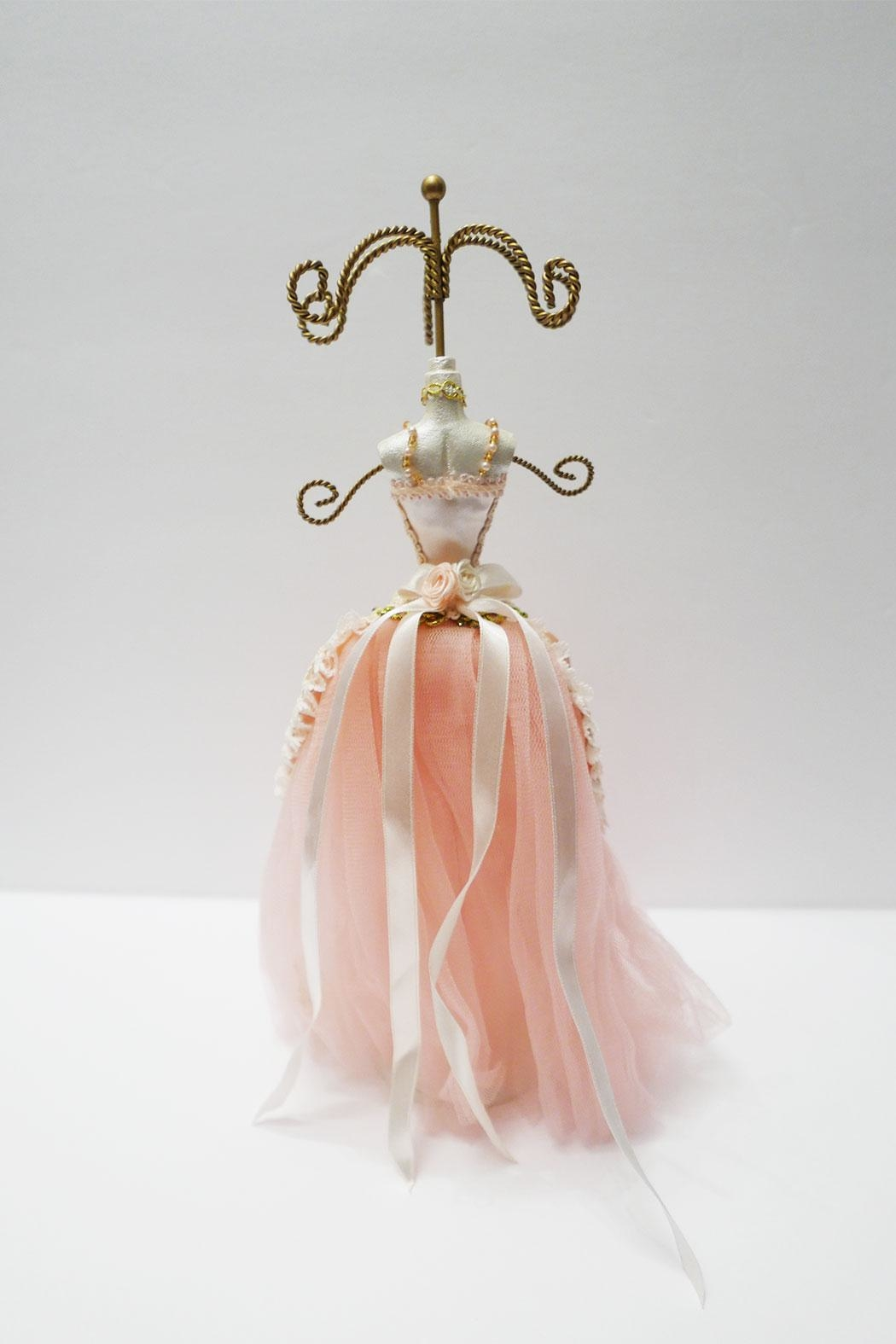 Bun Ballerina Jewelry Holder - Front Full Image