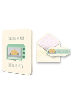 Shoptiques Product: Bun In The Oven Card