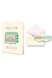 Studio oh! Bun In The Oven Card - Product Mini Image