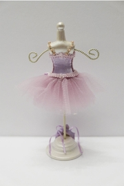 Bun Tutu Jewelry Holder - Front full body