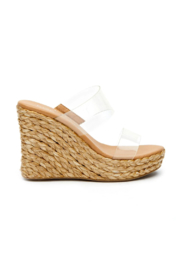 Coconuts by Matisse Bungalow Espadrille Wedge - Front full body